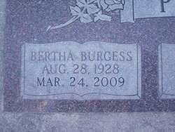 Bertha <i>Burgess</i> Petty