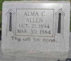 Alma Catherine <i>Steiner</i> Allen