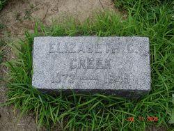 Elizabeth C Lizzie Creek