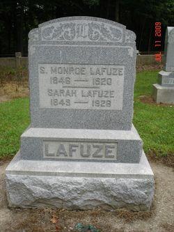 Sarah M <i>Creek</i> Lafuze