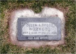 Ellen Ann <i>Taylor</i> Worwood