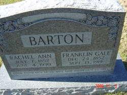 Rachel Ann <i>Nelson</i> Barton