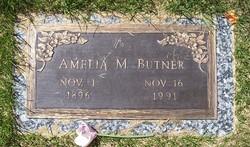 Amelia Melvina Amy <i>Hutchins</i> Butner