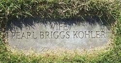 Pearl <i>Briggs</i> Kohler