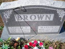 Sophia F. <i>Fore</i> Brown
