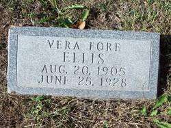 Vera <i>Fore</i> Ellis