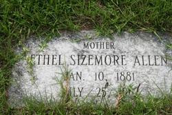 Ethel <i>Sizemore</i> Allen
