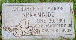 Anthony Raul <i>Marion</i> Arrambide