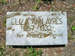 Eliza Ann Ayers