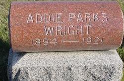 Addie Pearl <i>Parks</i> Wright
