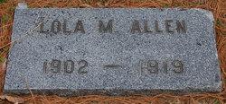 Lola M Allen