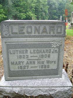 Mary Ann Leonard