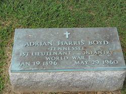 Adrian Harris Boyd