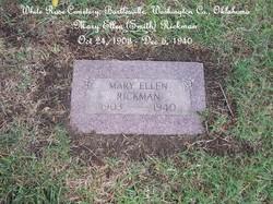 Mary Ellen <i>Smith</i> Rickman