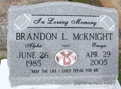 Brandon L. Pickle Mcknight