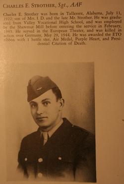 Sgt Charles Elliott Strother