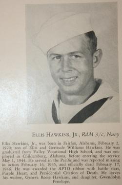 RD3 Ellis Ambers Hawkins, Jr