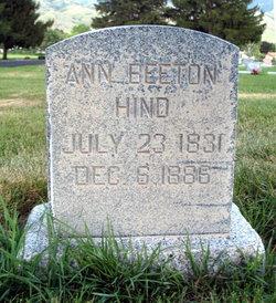 Ann <i>Beeton</i> Hind