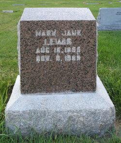 Mary Jane <i>Hunter</i> Lewis