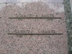 Carroll Jean <i>Rogers</i> Baker
