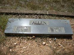 Bertha <i>Ashford</i> Allen