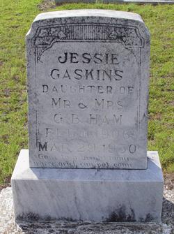 Jessie <i>Ham</i> Gaskins