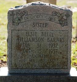 Elsie Belle <i>Williamson</i> Barnes