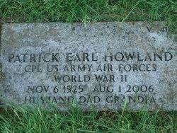 Patrick Earl Pat Howland
