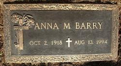 Anna Mary <i>Butler</i> Barry