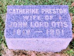 Catherine <i>Preston</i> Otis