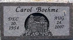 Carol Boehme