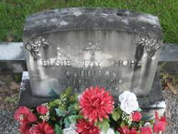 Elsie Fay <i>Hope</i> Garrison