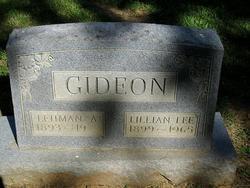 Lilliam Lee <i>Chandler</i> Gideon