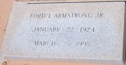 Ford Issac Armstrong, Jr