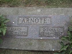 Donna C <i>Switzer</i> Arnote