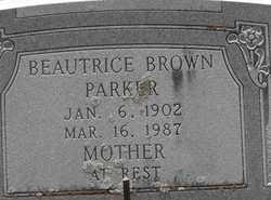 Beautrice <i>Brown</i> Parker