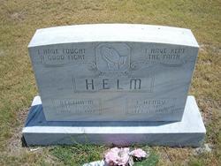 Bertha M. <i>Rueter</i> Helm