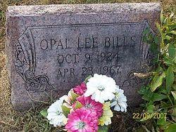 Opal Lee <i>Earlywine</i> Bills