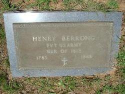 Henry Napoleon Berrong
