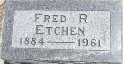 Frederick Rudolph Fred Etchen, Sr