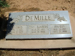 Ethel <i>Sanders</i> DeMille