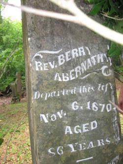 Rev Barry Abernathy