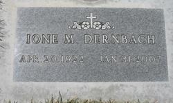 Ione Marie <i>Schramer</i> Dernbach