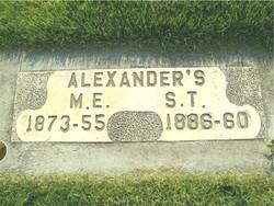 M. E. Alexander