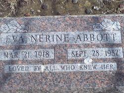 Eva Nerine Abbott