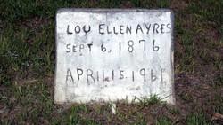Lou Ellen <i>Reeves</i> Ayres