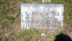 Ransom Ayres