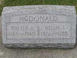 Nellie E McDonald