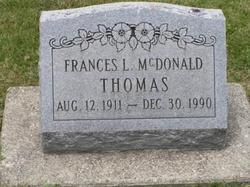 Francis L McDonald
