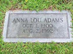 Anna Lou <i>Long</i> Adams